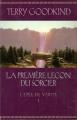 Couverture L'épée de vérité, tome 01 : La première leçon du sorcier Editions France Loisirs 2005