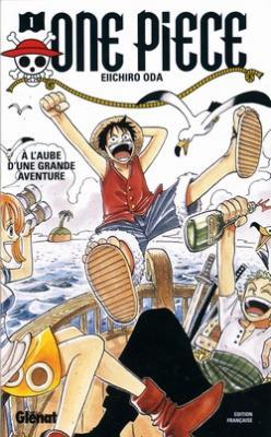 Couverture One Piece, tome 01 : À l'aube d'une grande aventure