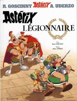Couverture Astérix, tome 10 : Astérix légionnaire
