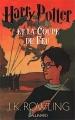 Couverture Harry Potter, tome 4 : Harry Potter et la coupe de feu Editions Gallimard  2000