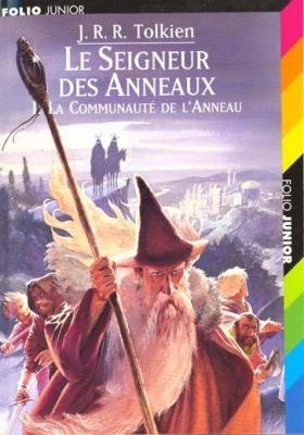 Couverture Le Seigneur des Anneaux, tome 1 : La Communauté de l'Anneau