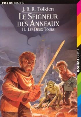 Couverture Le Seigneur des Anneaux, tome 2 : Les Deux Tours