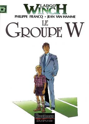 Couverture Largo Winch, tome 02 : Le groupe W