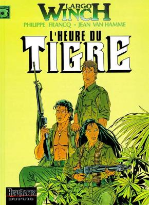 Couverture Largo Winch, tome 08 : L'Heure du Tigre