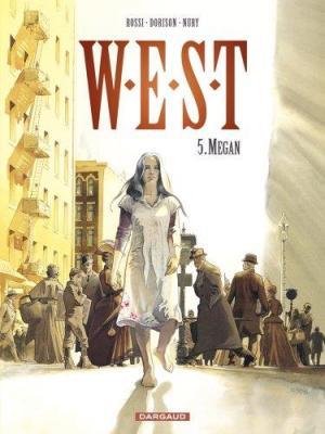 Couverture W.E.S.T, tome 5 : Megan