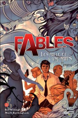 Couverture Fables, tome 08 : Les mille et une nuits (et jours)