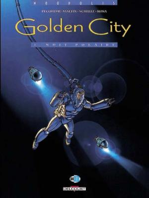 Couverture Golden City, tome 03 : Nuit Polaire