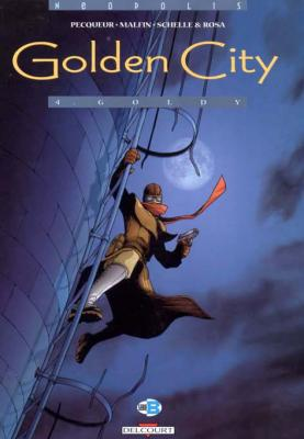 Couverture Golden City, tome 04 : Goldy