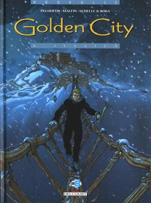 Couverture Golden City, tome 06 : Jessica