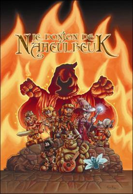 Couverture Le donjon de Naheulbeuk (BD), tome 02 : Première saison, partie 2