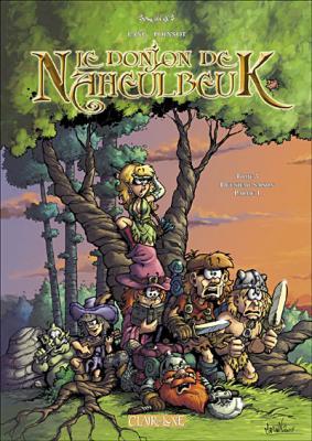 Couverture Le donjon de Naheulbeuk (BD), tome 03 : Deuxième saison, partie 1