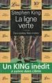 Couverture La ligne verte, tome 1 : Deux petites filles mortes Editions Librio 1996