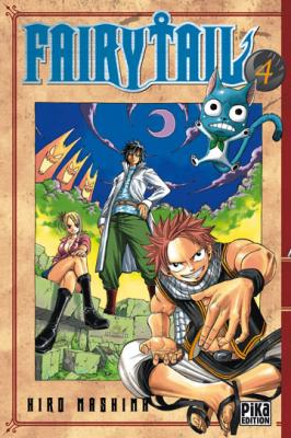 Couverture Fairy Tail, tome 04