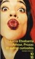 Couverture Amour, prozac et autres curiosités Editions 10/18 (Domaine étranger) 2001