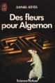 Couverture Des fleurs pour Algernon Editions J'ai Lu (Science-fiction) 1989