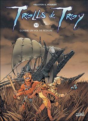 Couverture Trolls de Troy, tome 03 : Comme un vol de pétaures