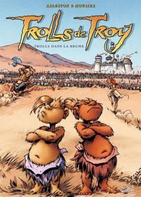 Couverture Trolls de Troy, tome 06 : Trolls dans la brume