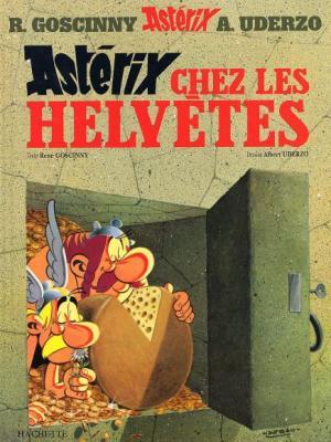 Couverture Astérix, tome 16 : Astérix chez les helvètes