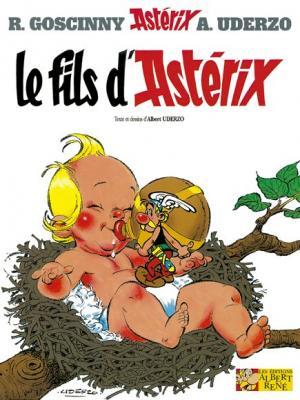 Couverture Astérix, tome 27 : Le fils d'Astérix