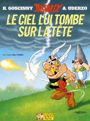 Couverture Astérix, tome 33 : Le ciel lui tombe sur la tête