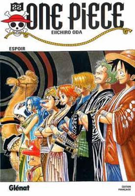Couverture One Piece, tome 22 : Espoir