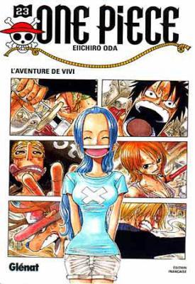 Couverture One Piece, tome 23 : L'aventure de Vivi