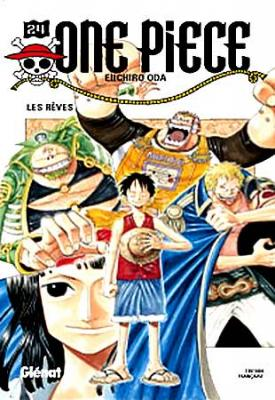 Couverture One Piece, tome 24 : Les rêves
