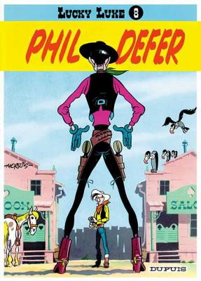 Couverture Lucky Luke, tome 08 : Phil Defer