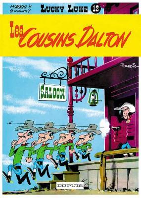 Couverture Lucky Luke, tome 12 : Les Cousins Dalton