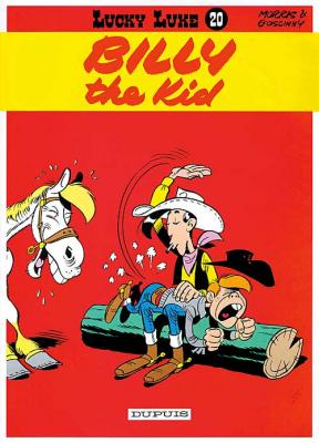 Couverture Lucky Luke, tome 20 : Billy the Kid
