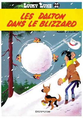 Couverture Lucky Luke, tome 22 : Les Dalton dans le blizzard