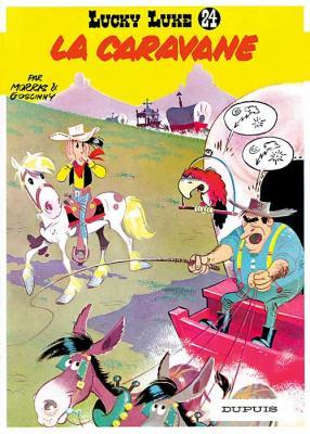 Couverture Lucky Luke, tome 24 : La Caravane