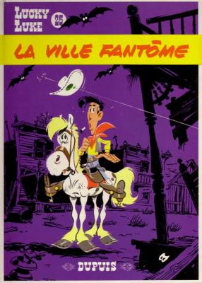 Couverture Lucky Luke, tome 25 : La Ville fantôme