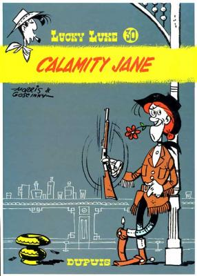 Couverture Lucky Luke, tome 30 : Calamity Jane