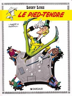 Couverture Lucky Luke, tome 33 : Le Pied-tendre