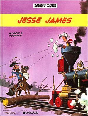 Couverture Lucky Luke, tome 35 : Jesse James