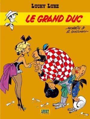 Couverture Lucky Luke, tome 40 : Le Grand Duc