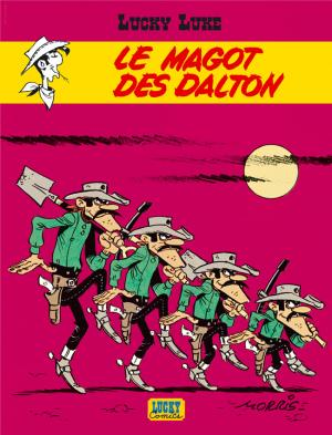 Couverture Lucky Luke, tome 47 : Le Magot des Dalton