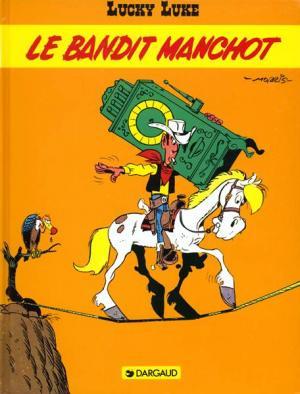 Couverture Lucky Luke, tome 49 : Le Bandit manchot