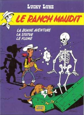 Couverture Lucky Luke, tome 56 : Le Ranch maudit