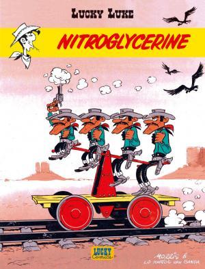 Couverture Lucky Luke, tome 57 : Nitroglycérine