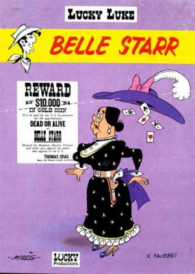 Couverture Lucky Luke, tome 64 : Belle Starr