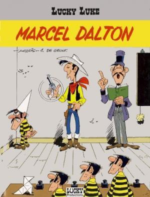 Couverture Lucky Luke, tome 67 : Marcel Dalton