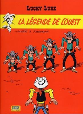 Couverture Lucky Luke, tome 70 : La Légende de l'Ouest