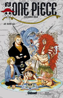 Couverture One Piece, tome 31 : Je suis là