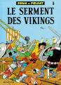 Couverture Johan et Pirlouit, tome 05 : Le serment des Vikings Editions Dupuis 1986
