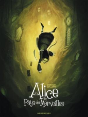 Couverture Alice au pays des merveilles (BD)