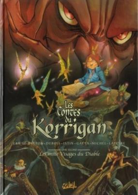 Couverture Les Contes du Korrigan, tome 02 : Les Mille Visages du diable