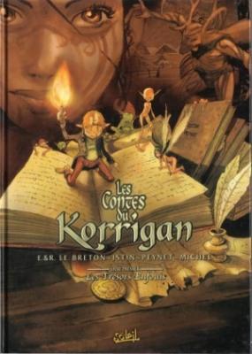 Couverture Les Contes du Korrigan, tome 01  : Les Trésors Enfouis