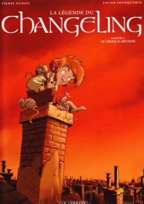 Couverture La légende du Changeling, tome 2 : Le croque-mitaine